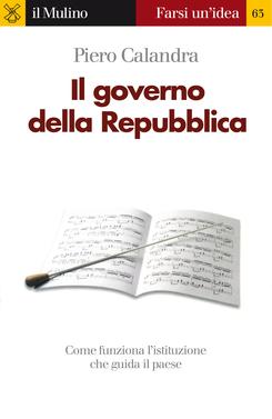 copertina Il governo della Repubblica
