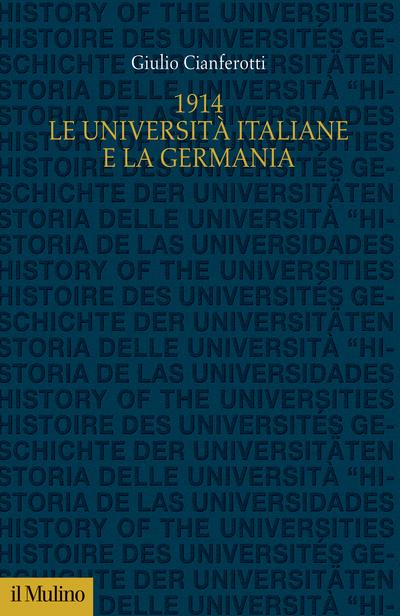 Cover 1914. Le università italiane e la Germania