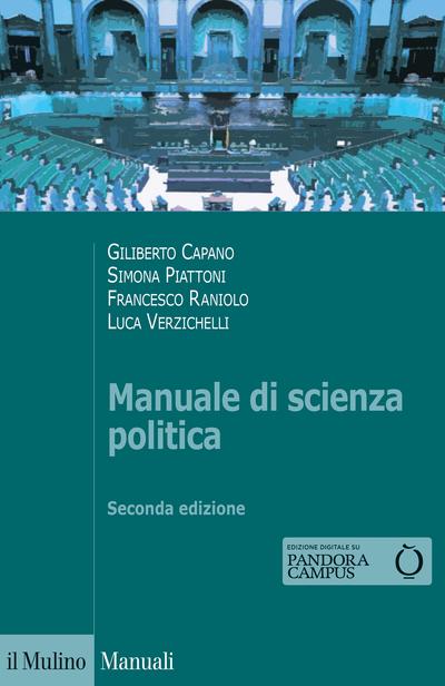Cover Manuale di scienza politica