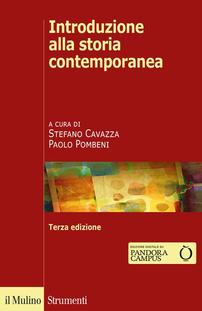 Cover Introduzione alla storia contemporanea