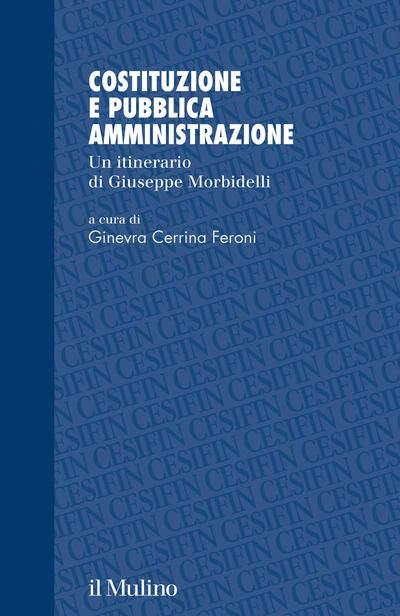 Cover Costituzione e pubblica amministrazione